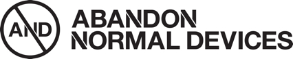 Logo for Abandon Normal Devices (AND)